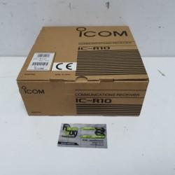 RECEPTOR ICOM IC-R10